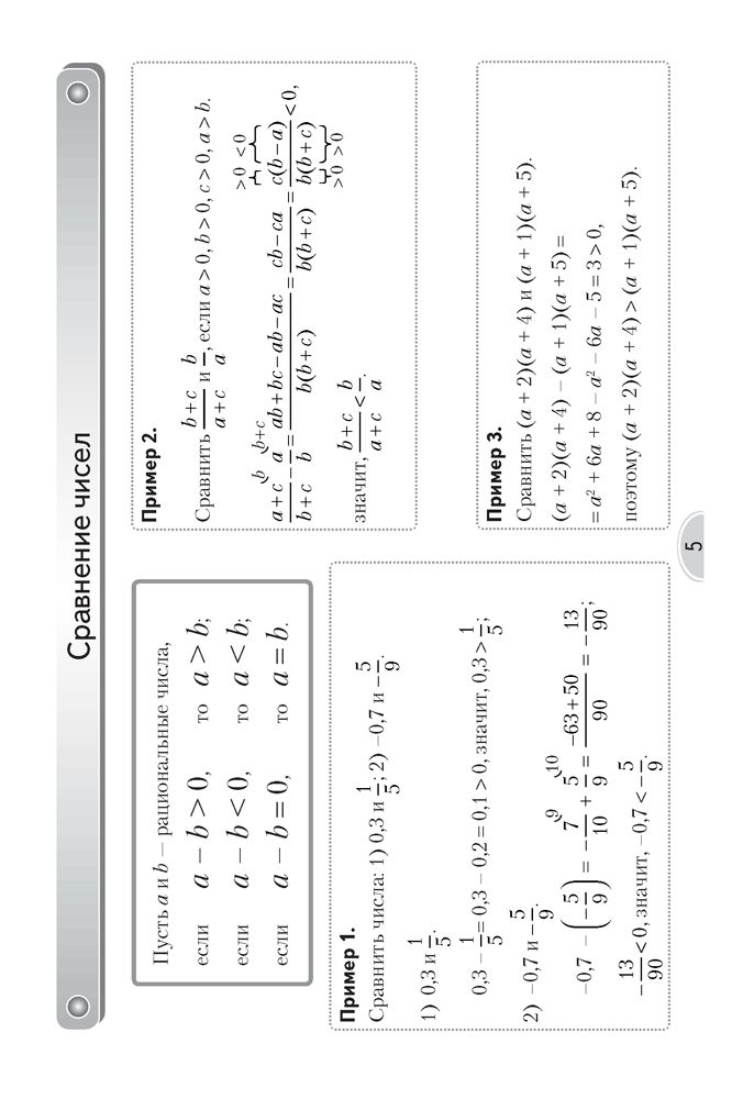 Опорный план конспект по математике 8 класс