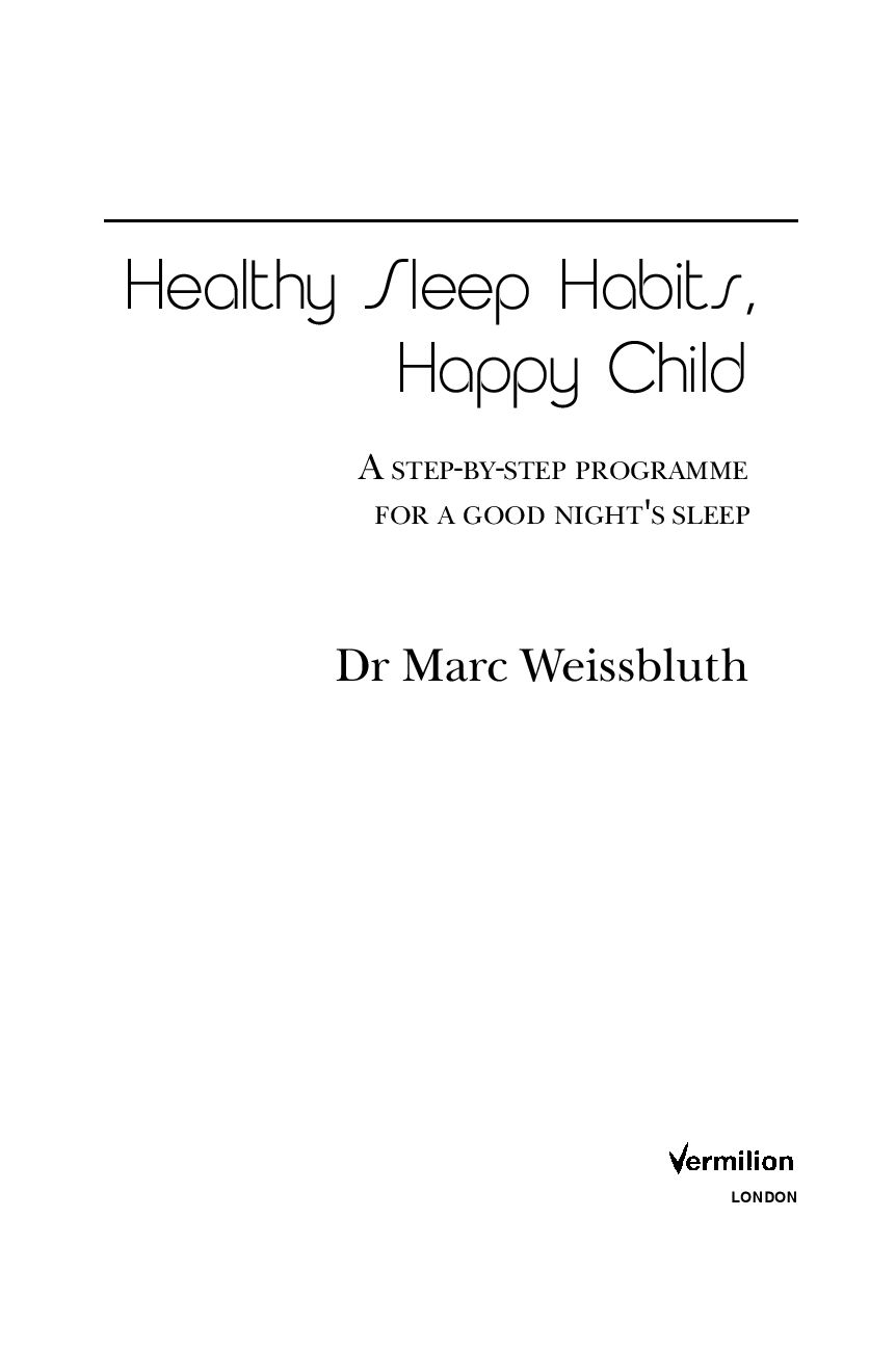 марк вайсблут здоровый сон счастливый ребенок скачать бесплатно