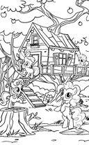 Тайны Понивилля. Крошка Белль и древесный волк — фото, картинка — 2