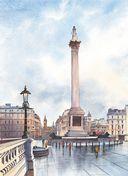 Нарисуй Лондон акварелью по схемам — фото, картинка — 5