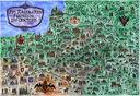 Ілюстраваная мапа. Рэч Паспалітая ў сярэдзіне XVIII ст. — фото, картинка — 1