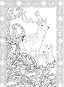 Заколдованный лес. Раскраска-антистресс для творчества и вдохновения — фото, картинка — 8
