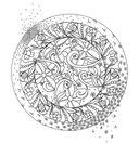 Книга хорошего настроения. Медитативная раскраска для взрослых — фото, картинка — 6