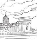 Мой Петербург. АРТ-Раскраска для вдохновляющего путешествия — фото, картинка — 4