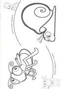 Лунтик и его друзья. Пальчиковая раскраска — фото, картинка — 1