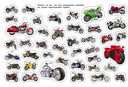 Машины и мотоциклы. Альбом наклеек — фото, картинка — 2