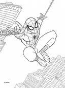 Человек-паук. Раскраска с красками — фото, картинка — 1