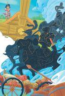 Богатыри. Вольга и чёрные рыцари. Вольга и дракон — фото, картинка — 11