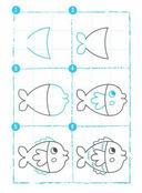 Раз, два, три. Я рисую, посмотри! В воде — фото, картинка — 3