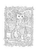Котики. Блокнот-раскраска — фото, картинка — 2