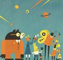 Профессор Астрокот и его путешествие в космос — фото, картинка — 2