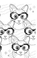 Кототерапия. Мини-раскраска-антистресс для творчества и вдохновения — фото, картинка — 13