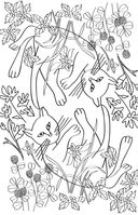 Кототерапия. Мини-раскраска-антистресс для творчества и вдохновения — фото, картинка — 3