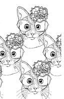 Кототерапия. Мини-раскраска-антистресс для творчества и вдохновения — фото, картинка — 5