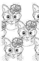 Кототерапия. Мини-раскраска-антистресс для творчества и вдохновения — фото, картинка — 6