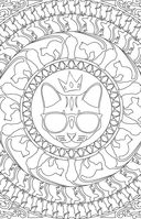 Кототерапия. Мини-раскраска-антистресс для творчества и вдохновения — фото, картинка — 7