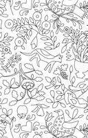 Кототерапия. Мини-раскраска-антистресс для творчества и вдохновения — фото, картинка — 9