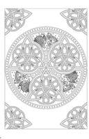 Кельтские узоры. Мини-раскраска-антистресс для творчества и вдохновения — фото, картинка — 3