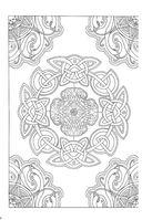 Кельтские узоры. Мини-раскраска-антистресс для творчества и вдохновения — фото, картинка — 7