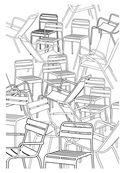 О, Париж. Раскраска-антистресс для творчества и вдохновения — фото, картинка — 12