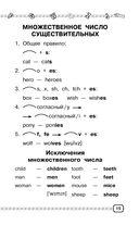 Английский язык. Весь курс начальной школы в схемах и таблицах — фото, картинка — 15